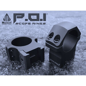"UTG PRO® 1""/2PCs Medium Profile P.O.I® Picatinny Rings"