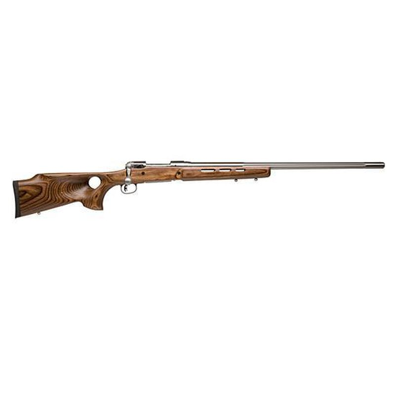 "Savage Model 12 BTCSS Varmint Bolt-Action Rifle .204 Ruger 26"" Barrel 4 Rounds Laminated Wood Thumbhole  Stock Stainless Steel Barrel"