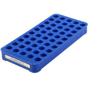 Frankford Arsenal #6 Perfect Fit Reloading Tray 45 Rounds Plastic Blue 713498
