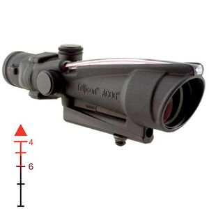 Trijicon ACOG TA11D Riflescope 3.5x35 Illuminated Red Triangle .223 Ballistic BAC Reticle 1/3 MOA Aluminum Matte Black with TA30 Mount TA11D