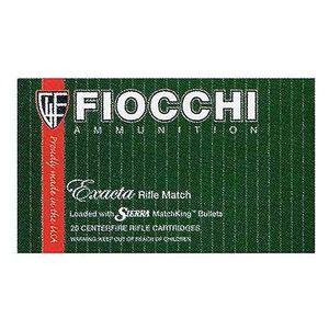Fiocchi .30-06 SPRG 168 Grain SMK BTHP 20 Round Box