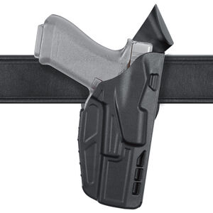 Safariland 7390 7TS GLOCK 17, 34, and 41 with Light ALS Mid Ride Duty Holster STX Plain Black