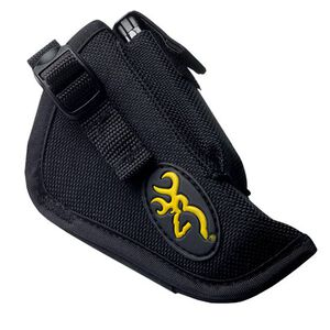 Browning Buckmark Logo 1911-22 Holster Right Hand OWB Holster Spare Mag Pouch Nylon Black 12903012
