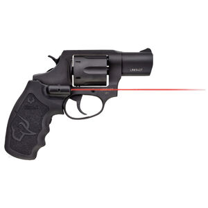 """Taurus 856 UL Ultralite .38 Special +P Revolver 2"""" Barrel 6 Rounds Viridian Red Laser Grip Fixed Sights Rubber Grips Black Finish"""