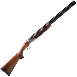 "Savage Stevens Model 555 Enhanced Over/Under Shotgun 20 Gauge 26"" Barrels 2 Rounds 3"" Chamber Silver Receiver Imperial Walnut Stock"