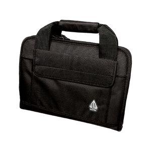 Leapers UTG Deluxe Single Pistol Soft Case Nylon Black PVC-PC01B