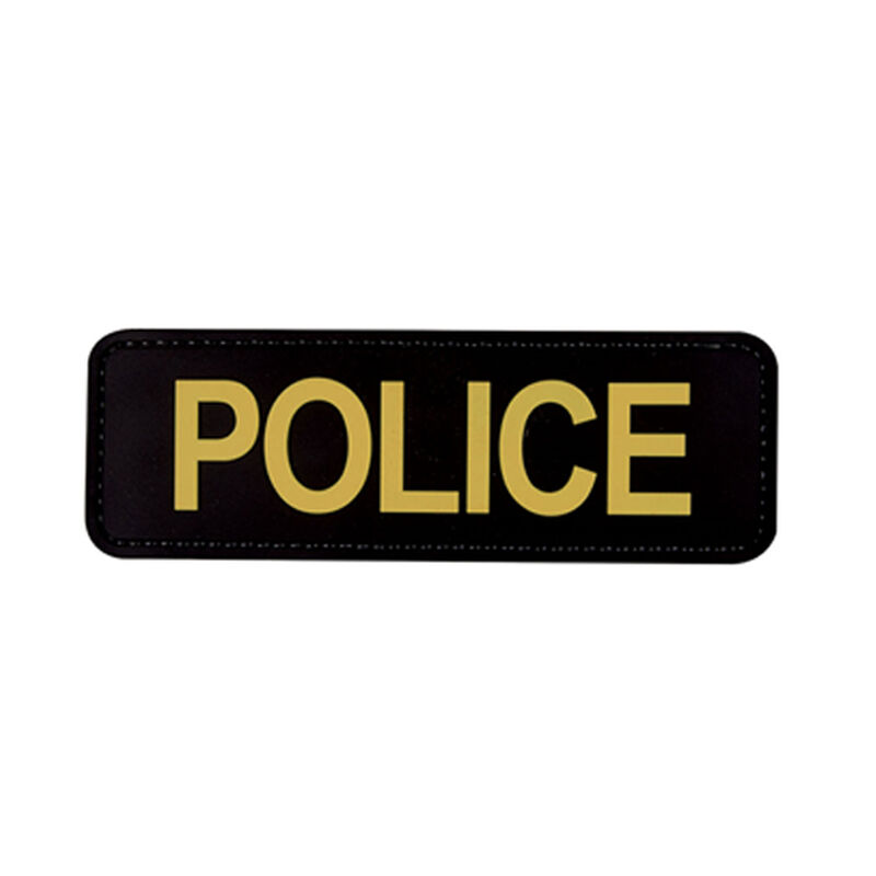 5ive Star Gear PVC Morale Patch Police Black Gold