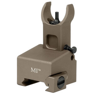 Midwest Industries AR-15 Locking Low Profile Front Sight Gas Block Height Aluminum FDE MI-LFFG-FDE