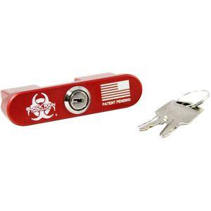 Black Rain BRO-Lock AR308 Bolt/Chamber Lock Aluminum Red