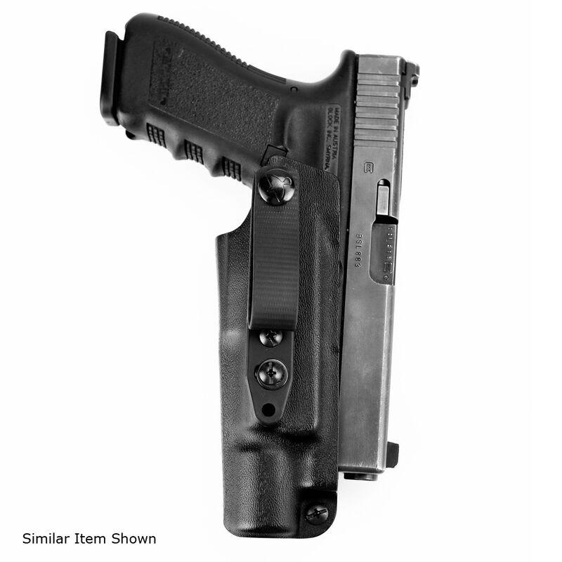 Raven Concealment Vanguard 3 Light Compatible Holster For Firearms With  Surefire X300 Ultra A/B IWB Holster Hook Struts Ambidextrous Black