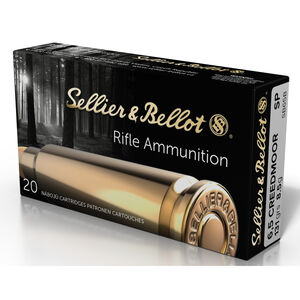 Sellier & Bellot 6.5 Creedmoor Ammunition 20 Rounds 131 Grain Soft Point