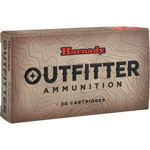 Hornady Outfitter .300 WSM Ammunition 20 Rounds GMX 180 Grains