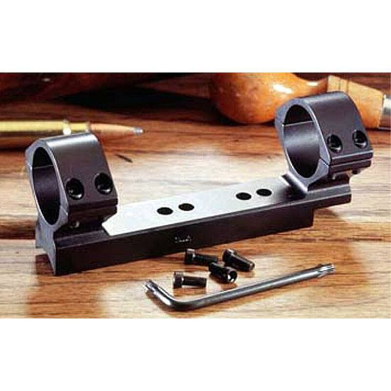 """Thompson/Center Encore and Omega Lightweight 1-Piece Alloy Scope Mount 1"""" High Rings Black Anodized Finish"""