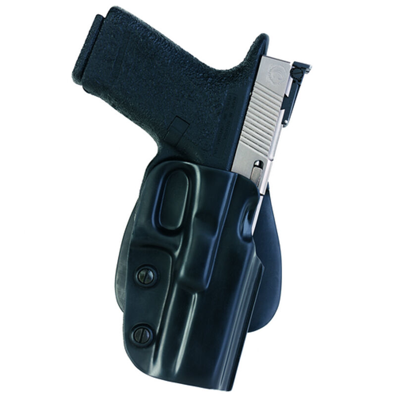 "Galco M5X Matrix Paddle Holster 1911s 4"" Barrels Right Hand Plastic Black"