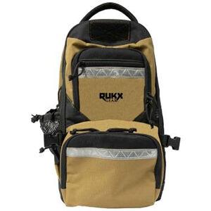 "ATI RUKX Gear Backpack 20""x11""x10"" Floating Water Resistant Tan"