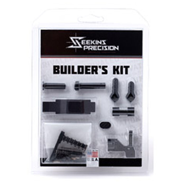 Seekins Precision AR-15 Builders Lower Parts Kit Black 0011510063