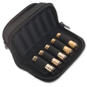 Browning Flex Foam Zippered Choke Tube Case Capacity 5 Accessory Pouch Nylon Black