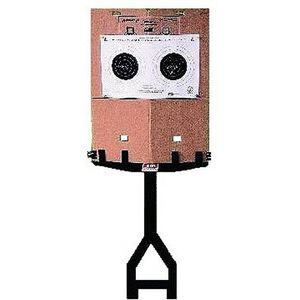 MTM Case-Gard Jammit Target Stand and Cardboard Target Holder Black Plastic Construction