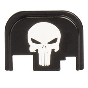 CruxOrd GLOCK 43 Back Plate Punisher Aluminum Black