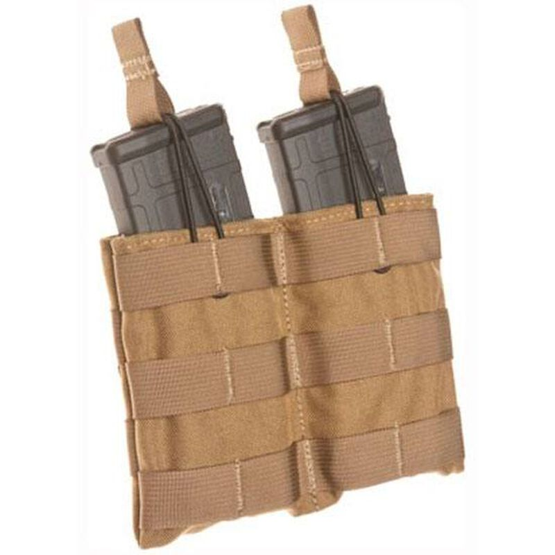 Tac Shield AR-15 Double Speed Load Rifle Magazine Pouch Nylon Coyote T3507CY