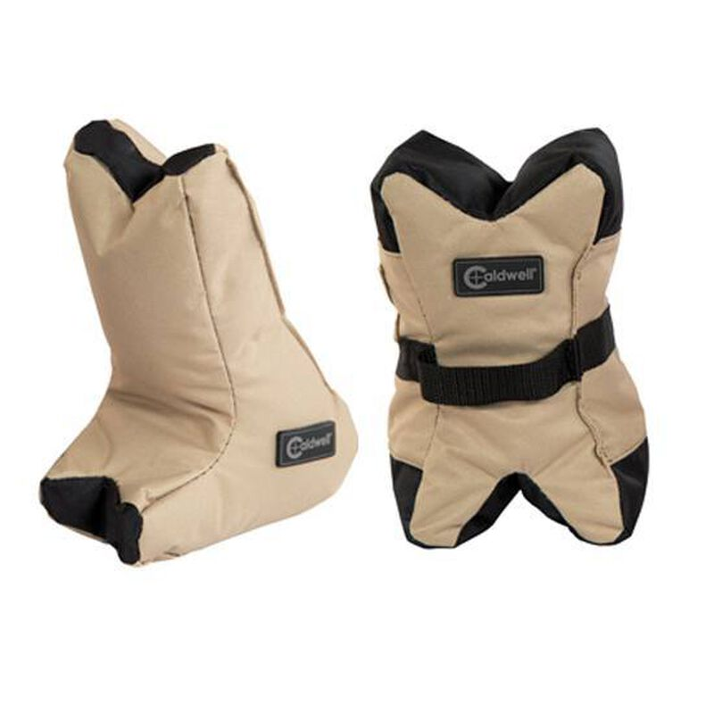 Caldwell Shooting Supplies Tactical Deadshot Shooting Rest Bag Set Heavy Duty Nylon Filled 934693