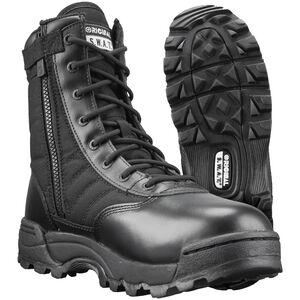 """Original S.W.A.T. Men's Classic 9"""" Side Zip Boots Size 6.5 Black"""