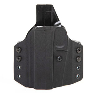 Uncle Mike's CCW OWB Holster Fits Taurus G2/G2C Pistols Right Hand Draw Kydex Black