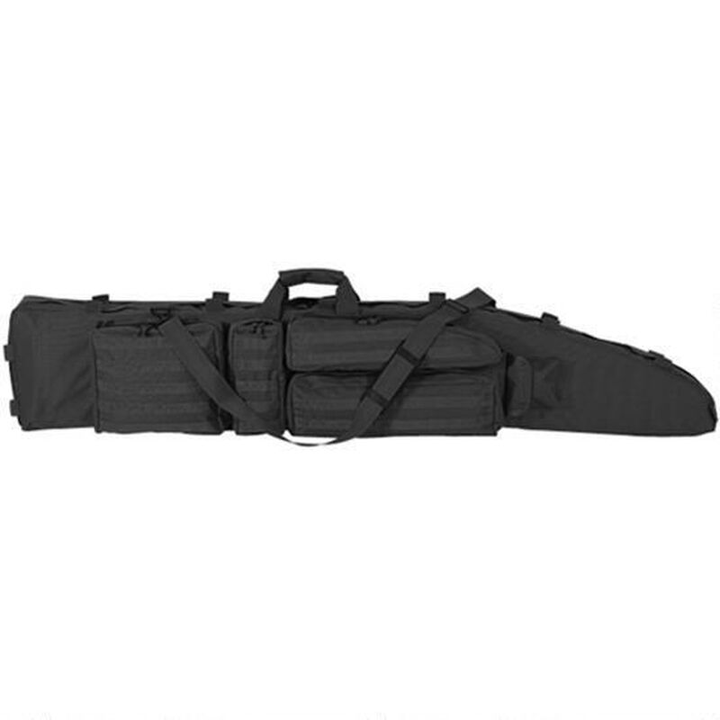 "Voodoo Tactical .50 Caliber Rifle Drag Bag Nylon 60"" Black 20-003401000"