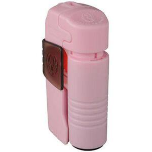 Ruger Ultra Pepper Spray System .38 oz Alarm Stobe Light Belt Clip Pink