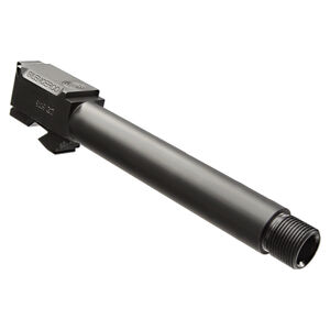 "Silencerco GLOCK 19 Threaded Barrel 4.5"" 1/2x28 Stainless Steel Black Nitride AC862"