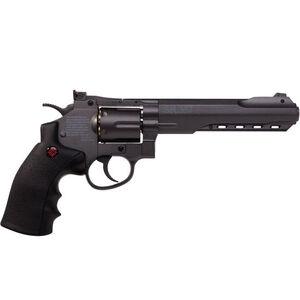 SR 357 Revolver Black Metal CO2 4.5mm 6 Round