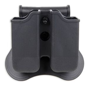 Bulldog Cases Polymer Magazine Holder Glock 17, 19, 22,23,26,27,31,32,33,34 (Gen 1, 2, 3, 4), Black