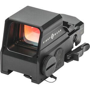 Sightmark Ultra Shot M-Spec LQD, Reflex Sight, Magnesium Alloy, Illuminated Reticle, Picatinny Quick Detach Mount, Black Finish, CR123A