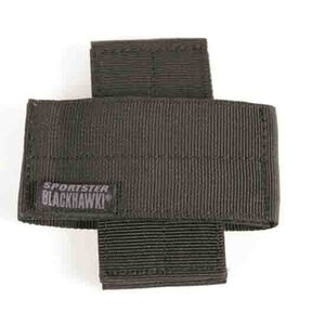 BLACKHAWK! Sportster Weapon Retainer Black Nylon Set of Two 74WR00BK