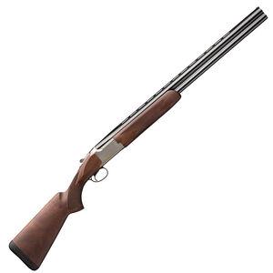 "Browning Citori Hunter Grade II .410 Bore O/U Break Action Shotgun 28"" Barrel 3"" Chamber 2 Rounds Bead Sight Walnut Stock Nickel/Blued Finish"