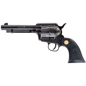 "Chiappa Firearms 1873 SAA 22-10 Single Action Revolver .22LR 5.5"" Barrel Synthetic Grips Black Finish CF340.160"