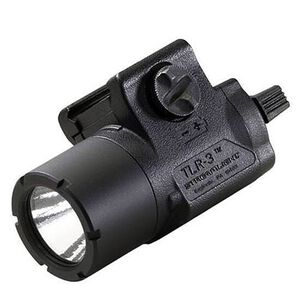 Streamlight TLR-3 Compact Rail Mounted Tactical Light 125 Lumens C4 LED Black