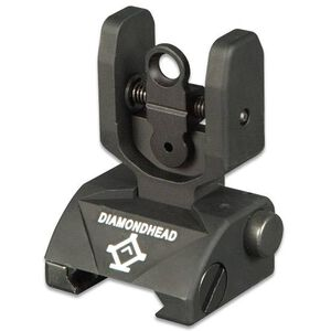 Diamondhead AR-15 Classic Rear Flip Up Combat Sight Aluminum Black 1301