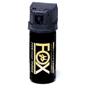 Fox Labs Pepper Spray Flip Top Spray Streamer 2 oz Black 22FTS-C