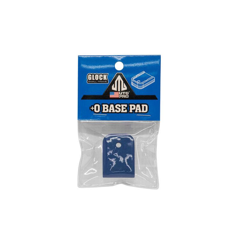 UTG PRO +0 Base Pad, Glock Small Frame, Matte Blue Aluminum