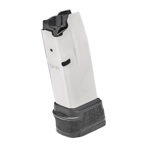 Springfield Armory Hellcat Magazine 9mm Luger 15 Rounds Polymer Base Plate Black Grip Sleeve