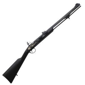 Traditions Deerhunter Black Powder Flintlock Rifle  50 Caliber 24
