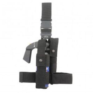 Aker Leather C989 Tactical Leg Holster Nylon Black