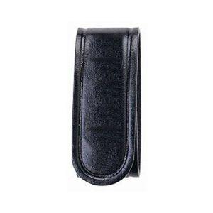 Bianchi AccuMold Elite 7906 Belt Keeper Hidden Snap Plain Black 4 Pack 22090