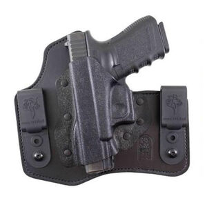 DeSantis Intruder IWB Holster S&W M&P Shield 9/40 Left Hand Leather/Kydex Black 105KBX7Z0