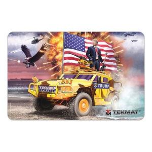 "TekMat President Donald J Trump Armorer's Bench Mat 11""x17"" Cloth Topped Neoprene"