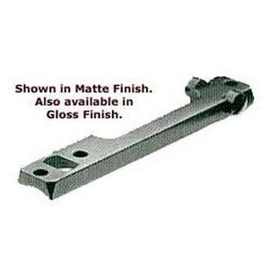 Standard 1-Piece Mount Base Gloss Finish - Savage 10  Left Hand  Short Action