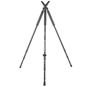 "Truglo Solid Shot Shooting Rest Tripod 22"" to 68"" Neoprene Handles Black"
