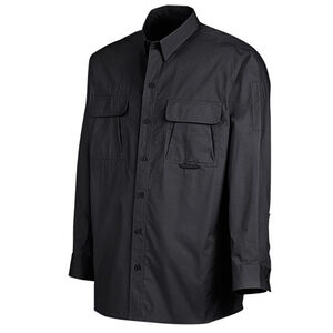 Dickies Ventilated Long Sleeve Tactical Shirt Cotton/Polyester Ripstop Large Tall Black LL953BK LT