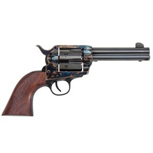 "Traditions Frontier Series 1873 Single Action Revolver .45 Colt 4.75"" Barrel 6 Rounds Case Hardened Finish Walnut Grips"